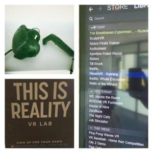HTC Vive Demo in VR