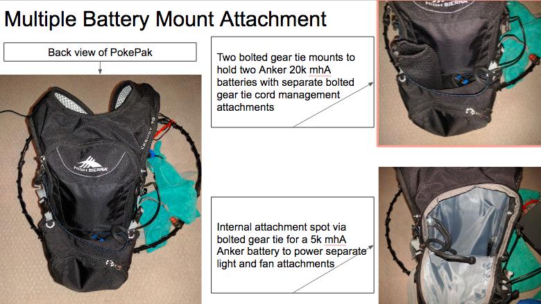 PokePak Battery Mount Attachment