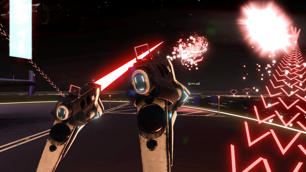 Space Pirate Trainer in VR with HTC Vive