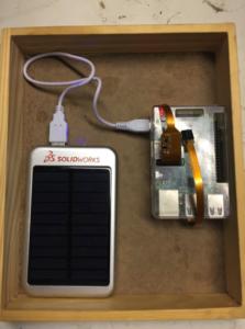 Streaming Solar Powered Raspberry Pi Wifi Web Cam