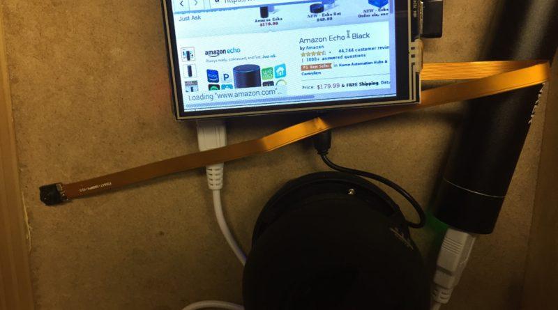 Pilexa: Amazon Alexa with a Touchscreen and Barcode Reader
