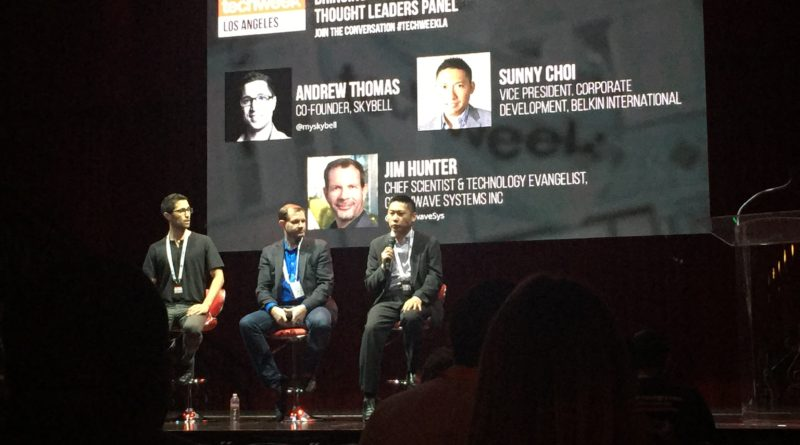 Recap From TechWeek LA IoT and Investor Panel