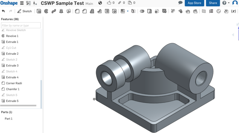 Studying For The Cswp With Onshape 3d Npd Cad 3d Printing